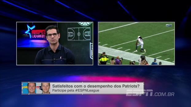 'A defesa do New England Patriots está começando a se acertar', diz Paulo Antunes