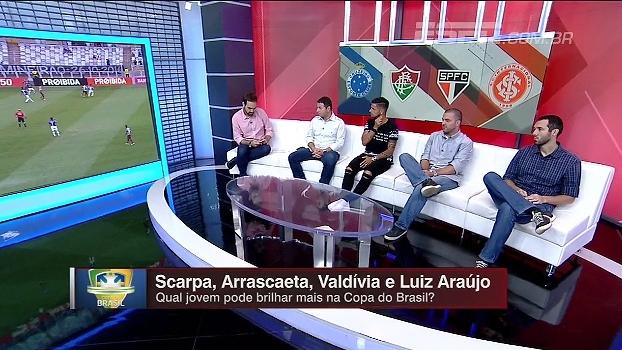 Para Hofman, Arrascaeta tem tudo parar brilhar nesta Copa do Brasil: 'É uma referência no Cruzeiro'