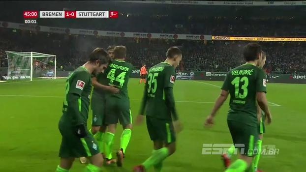 Werder Bremen vence Stuttgart, mas segue na zona de rebaixamento