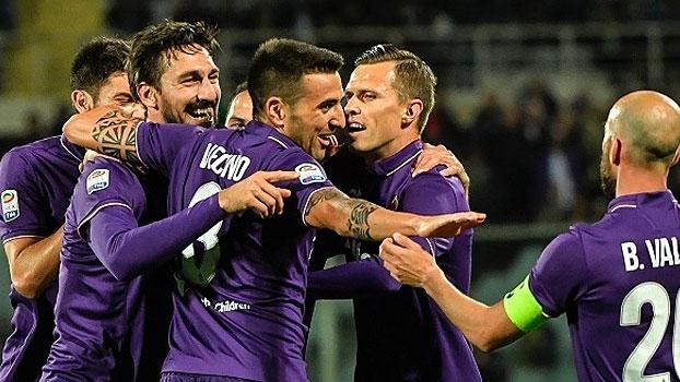 Assista aos gols da vitória da Fiorentina sobre a Internazionale por 5 a 4!