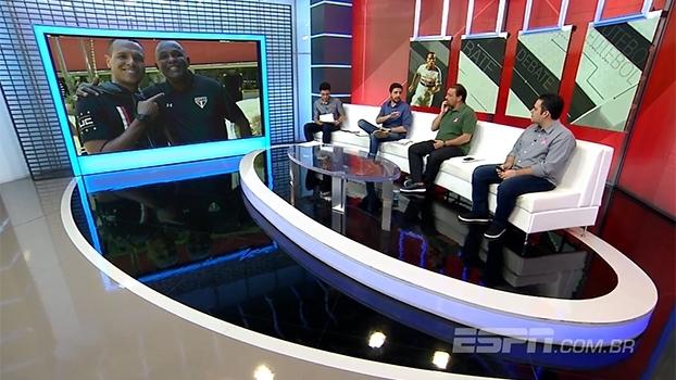 Nicola: Luis Fabiano não faz parte dos planos do São Paulo, mas Vasco e Ponte Preta têm interesse