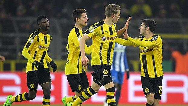 Copa da Alemanha: Gols de Borussia Dortmund 1 (3) x (2) 1 Hertha Berlin