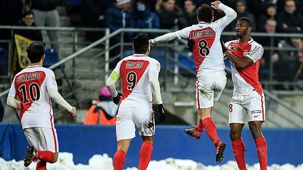 Copa da Liga Francesa: Gols de Sochaux 1 (3) x (4) 1 Monaco