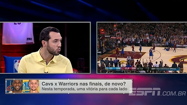ESPN League coloca Curry na frente de Durant nos playoffs e destaca qualidades 'escondidas' do armador