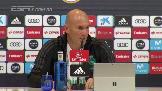Zidane tira responsabilidade dos lesionados e assume a culpa pela distancia do Barcelona: 'Sei que vamos conseguir'