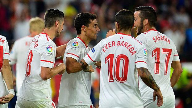 Assista aos lances da vitória do Sevilla sobre o Las Palmas por 1 a 0!