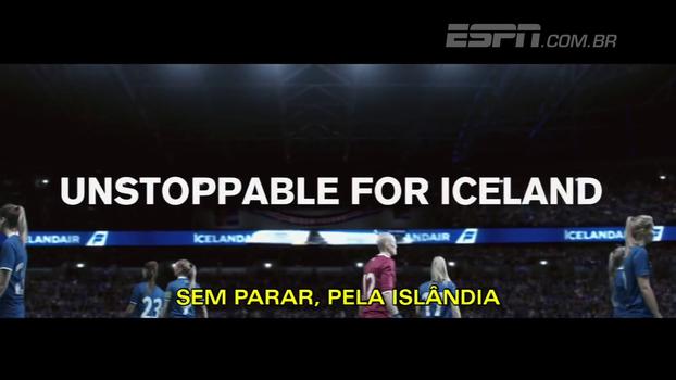 Seleção feminina da Islândia ganha vídeo promocional de arrepiar para a disputa da Euro 2017; veja