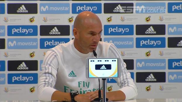Zidane critica punição de cinco jogos a Cristiano Ronaldo