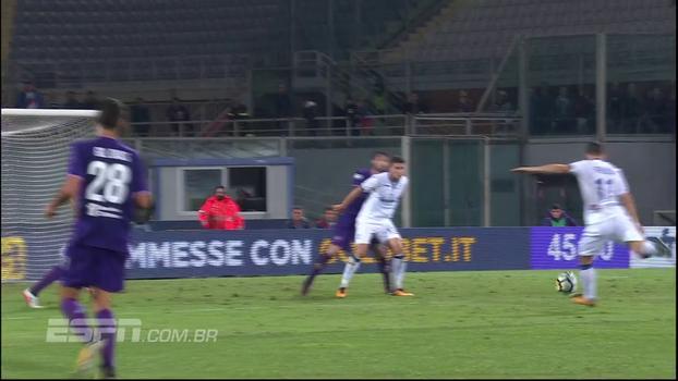 Fiorentina toma empate no último lance contra a Atalanta e cai para a 12ª posição