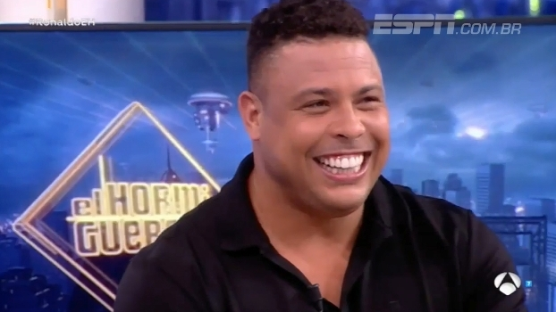 Ronaldo Fenômeno ri ao ser perguntado sobre suas festas e conta: 'Não fazem ideia do quão boas eram'