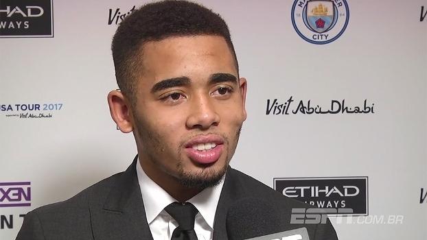 Gabriel Jesus diz que lado humano de Guardiola impressiona: 'Pessoa do bem'