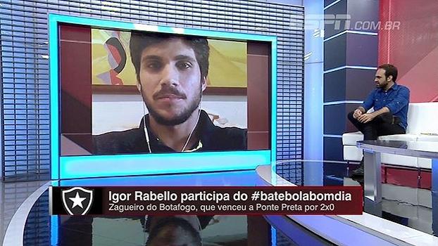 Zagueiro do Botafogo explica o que foi essencial para a equipe voltar a ter segurança na defesa