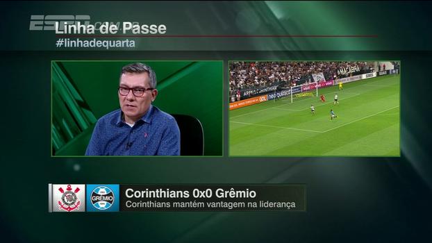 Calçade: 'O Corinthians, do jeito que vai, pode terminar campeão brasileiro com a imagem péssima'