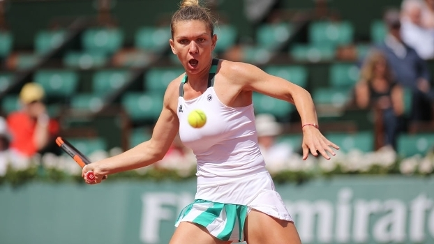 Roland Garros: Simona Halep 2 x 0 Carla Suárez Navarro