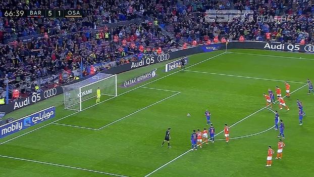 Fim do jejum! Após 7 anos no clube, Mascherano faz 1º gol com a camisa do Barcelona; assista
