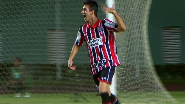 Copa do Brasil sub-20 (final): Gols de Bahia 2 x 2 São Paulo (campeão)