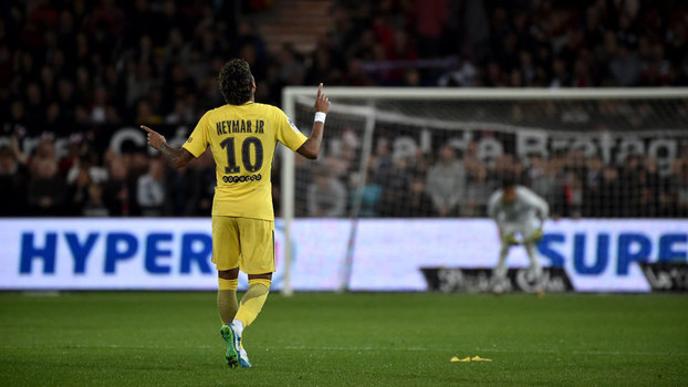 Francês: Gols de Guingamp 0 x 3 Paris Saint-Germain