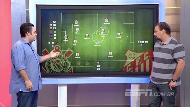 Dupla BB analisa garoto Maycon como segundo volante do Corinthians