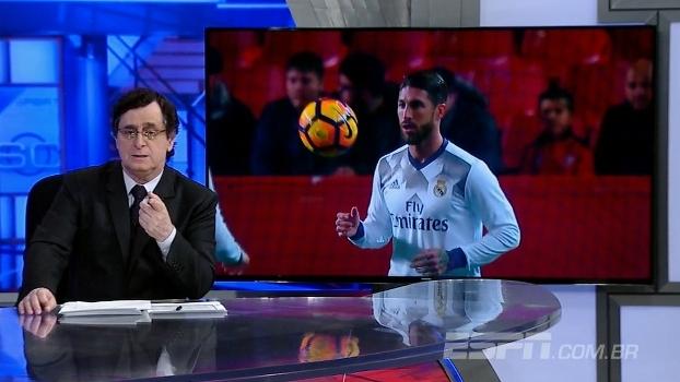 Antero detona hostilidade de torcedores do Sevilla contra S Ramos: 'Multidões costumam ser irraciona