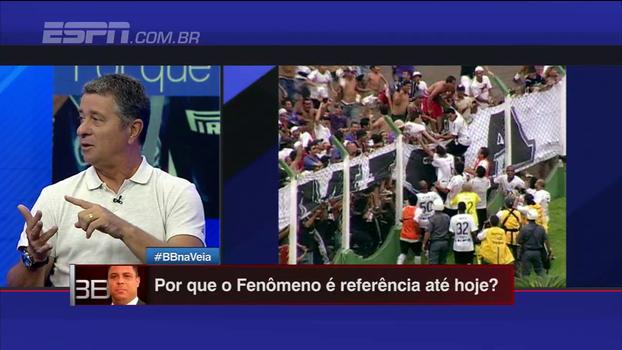 Walmir Cruz conta como Lulinha, Dentinho e molecada do Corinthians fizeram trote com Ronaldo