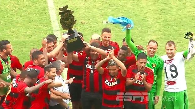 Taça Ariano Suassuna: Gols de Sport 1 x 1 The Strongest