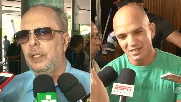 Presidente do Sport e Sandro elogiam qualidades de Cléber Santana: 'Deixa um exemplo de cidadania'