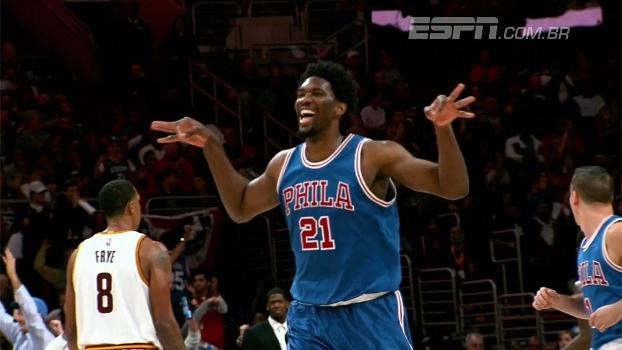 Trust the Process! Estrela dos 76ers, Embiid se inspira em Olajuwon para fazer sucesso na NBA