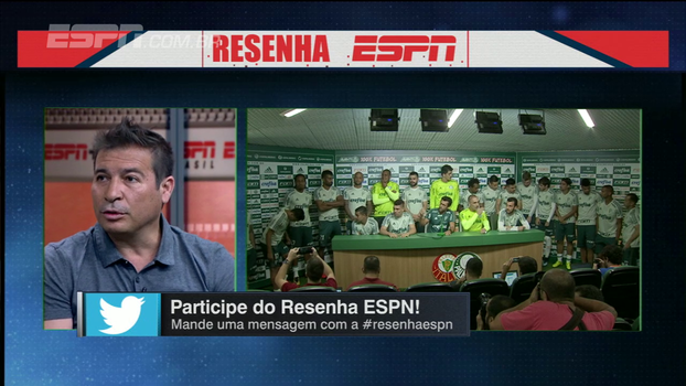 Integrantes do Resenha avaliam momento do Palmeiras, reprovam coletiva 'em grupo' e Luizão condena: 'É ridículo'