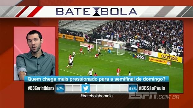 Para Hofman, Corinthians agora está pressionado: 'Mas São Paulo segue mais'