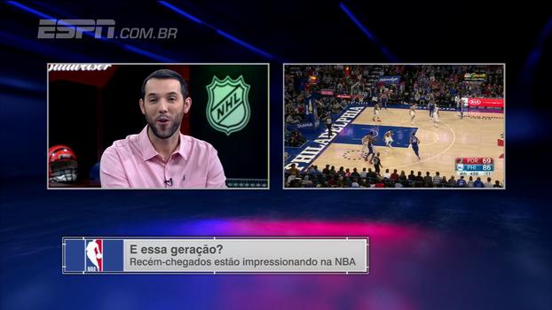 Hofman destaca nova geração dos Sixers na NBA: 'Philadelphia tem que levantar as mãos para o céu'