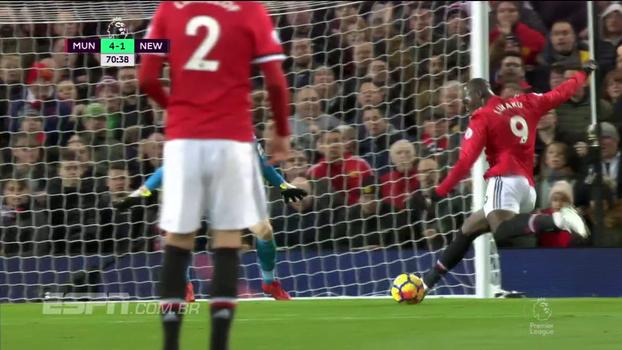 Premier League: Melhores momentos de Manchester United 4 x 1 Newcastle