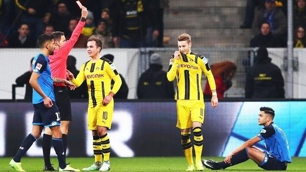 Bundesliga: Gols de Hoffenheim 2 x 2 Borussia Dortmund