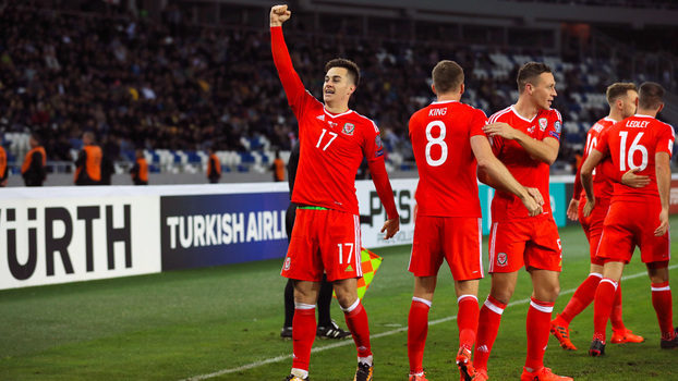 Veja os melhores momentos da vitória do País de Gales sobre a Geórgia por 1 a 0 pelas Eliminatórias Europeias
