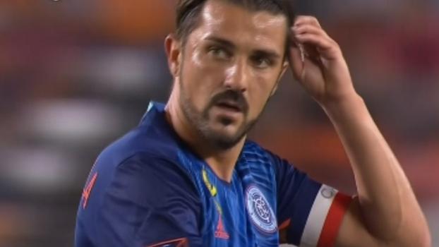David Villa marca dois gols e leva New York City FC à vitória sobre o Houston Dynamo na MLS