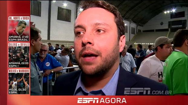 Julio Brant, da chapa de oposição a Eurico, fala em fraude e garante que venceu no 'voto legal'