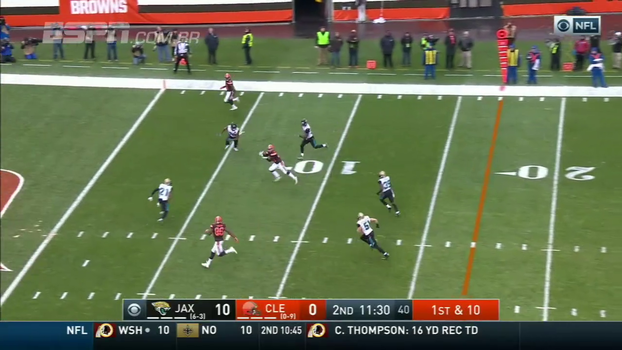 NFL: Lances de Cleveland Browns 7 x 19 Jacksonville Jaguars