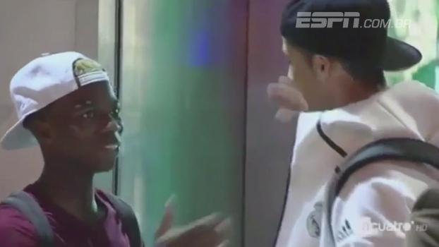 Jogador do Betis espera 20 minutos no vestiário para tirar foto com Cristiano Ronaldo