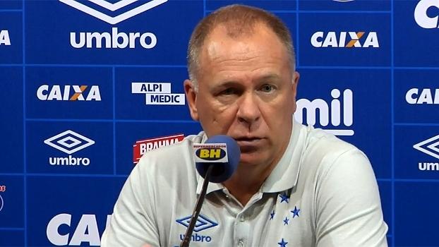 Mano Menezes elogia atuação do Cruzeiro após goleada e diz: 'Poderíamos ter feito mais'