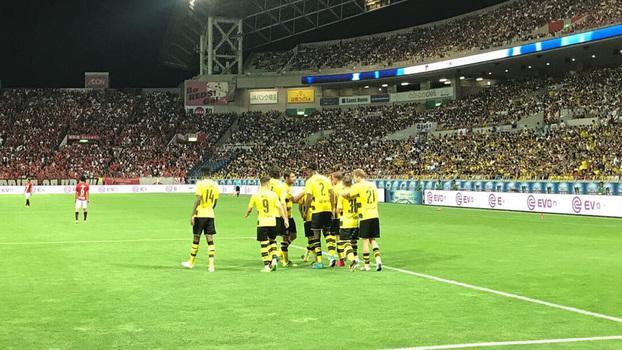 Amistoso internacional: Gols de Urawa Reds 2 x 3 Borussia Dortmund