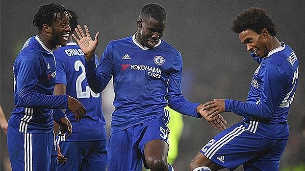 Copa da Inglaterra: Gols de Chelsea 4 x 1 Peterborough