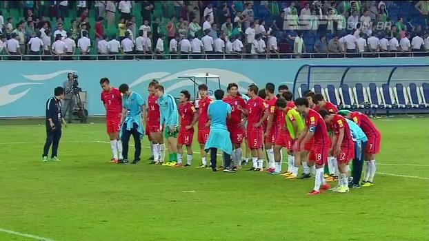 Veja lances do empate entre Uzbequistão e Coreia do Sul por 0 a 0 pelas Eliminatórias Asiáticas
