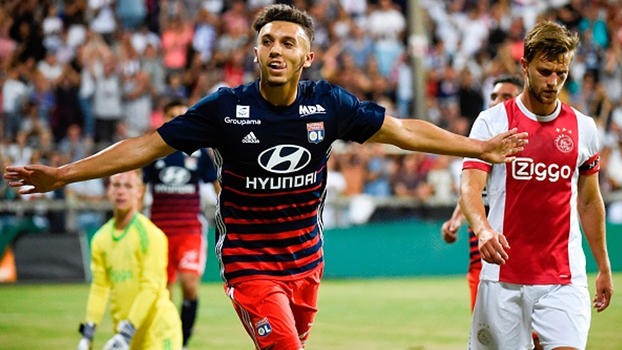 Assista aos gols da vitória do Lyon sobre o Ajax por 2 a 0!
