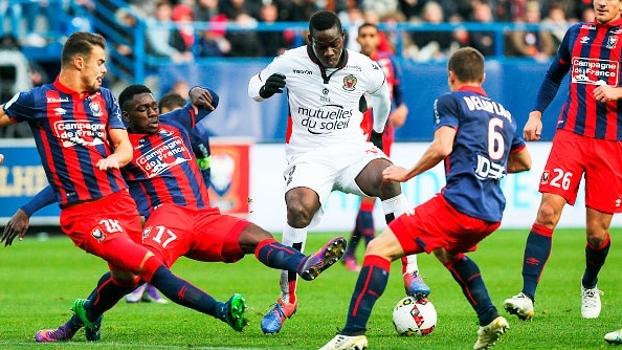 Francês: Gols de Caen 1 x 0 Nice