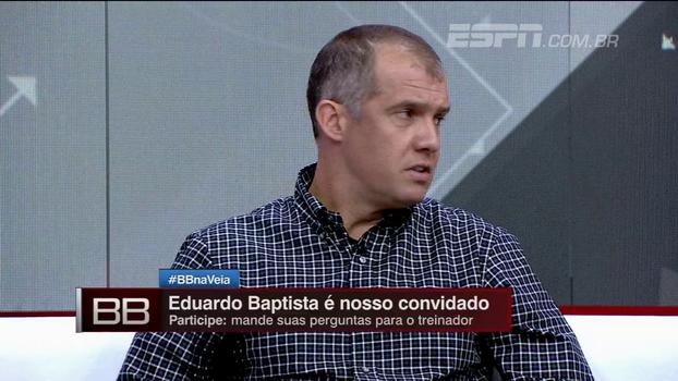 Jogador difícil? Eduardo Baptista abre o jogo sobre relação com Roger Guedes no Palmeiras