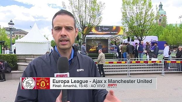 Acompanhando o United na Europa League, João Castelo diz como atentado em Manchester afetou equipe
