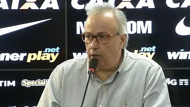 Roberto de Andrade: 'Se não aparecer proposta por Pato, vai ter que ficar até dezembro'