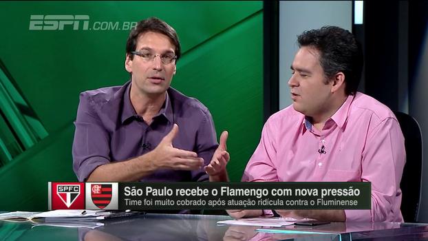 Arnaldo: 'São Paulo é o time mais previsível do Brasileiro. Razoável em casa e ridículo fora'