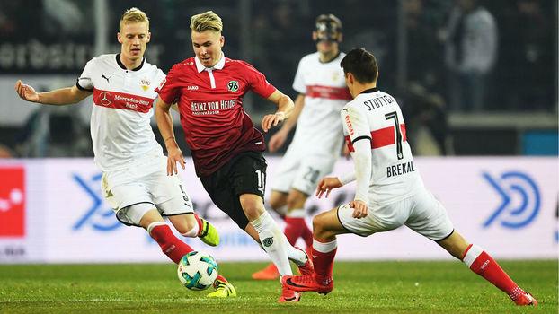 Veja os gols do empate entre Hannover e Stuttgart por 1 a 1 pela Bundesliga
