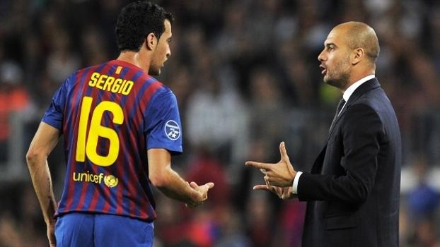 Busquets deixa em aberto futuro no Barça após elogios a Guardiola: 'Devo muito a ele'