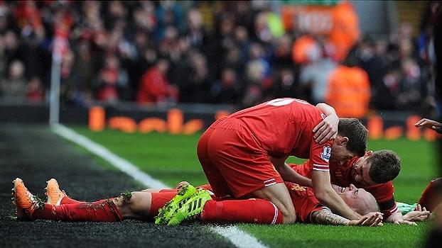 Inglês: Gols de Liverpool 5 x 1 Arsenal